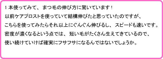 モデルアイズ・モデラッシュ口コミ3